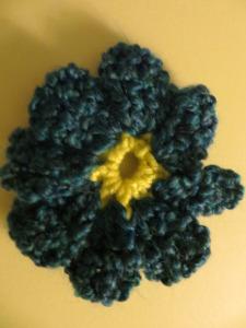 Crochet Cornflower